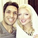 جدیدترین عکس سپهر حیدری و همسرش