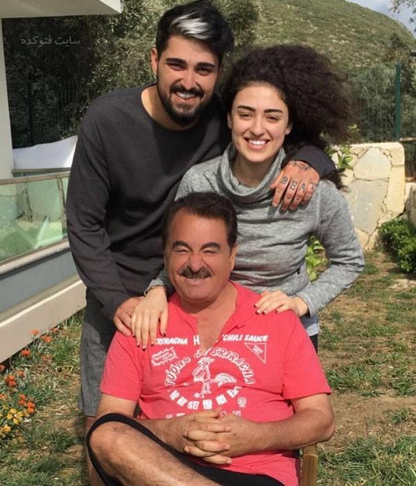 عکس فرزندان ابراهیم تاتلیس خواننده ترکیه