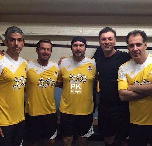 تیم فوتبال هنرمندان در تورنتو کانادا
