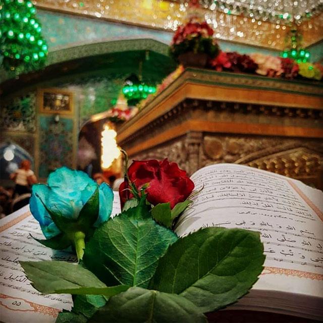 کارت پستال زیبا درباره امام رضا