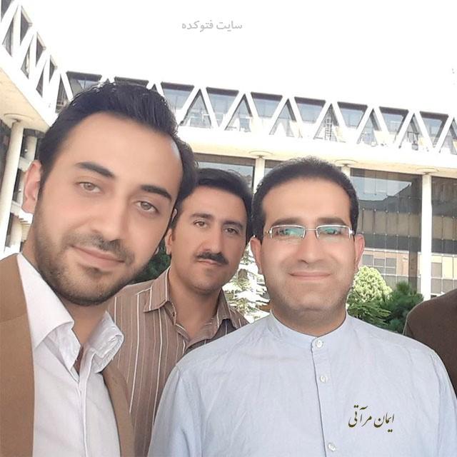عکس های ایمان مرآتی خبرنگار