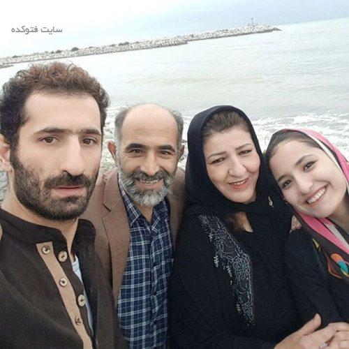 عکس خانوادگی ایمان صفا بازیگر