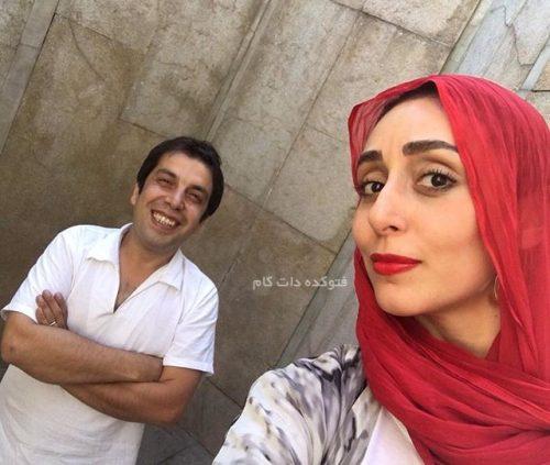 جمشیدی فر و همسرش فریبا امینیان
