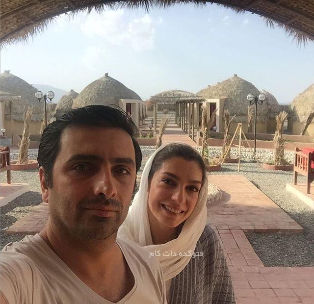 الکیا عبدالرزاقی و همسرش امین زندگانی