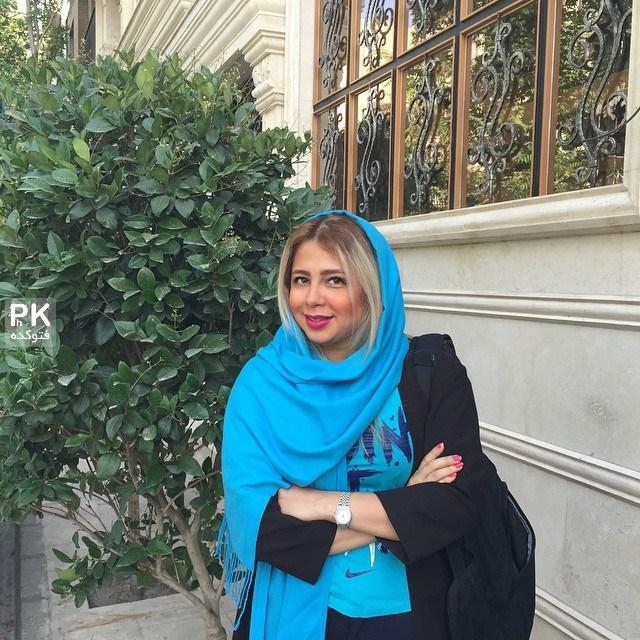 عکس جدید ساناز نظام دوست