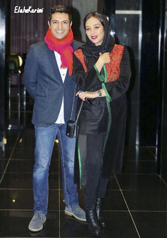 عکس اشکان خطیبی و آناهیتا درگاهی در بهمن 95