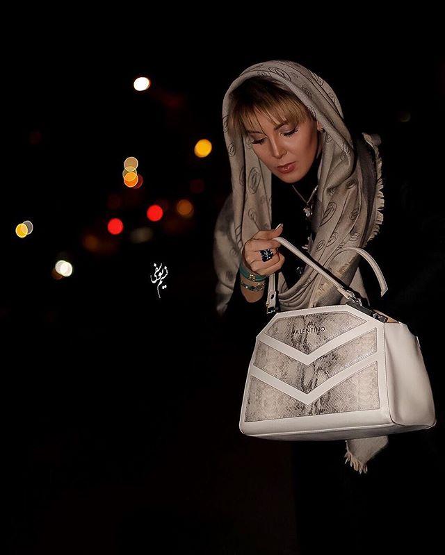 عکس لیلا بلوکات در بهمن 95