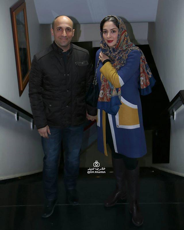 عکس علی سرابی و همسرش مارال بنی آدم در بهمن 95