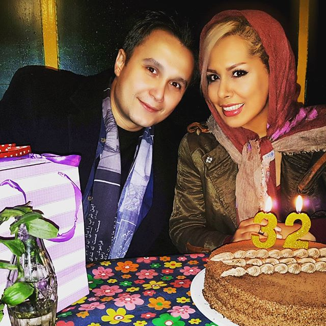عکس کیوان محمودنژاد و همسرش در بهمن 95