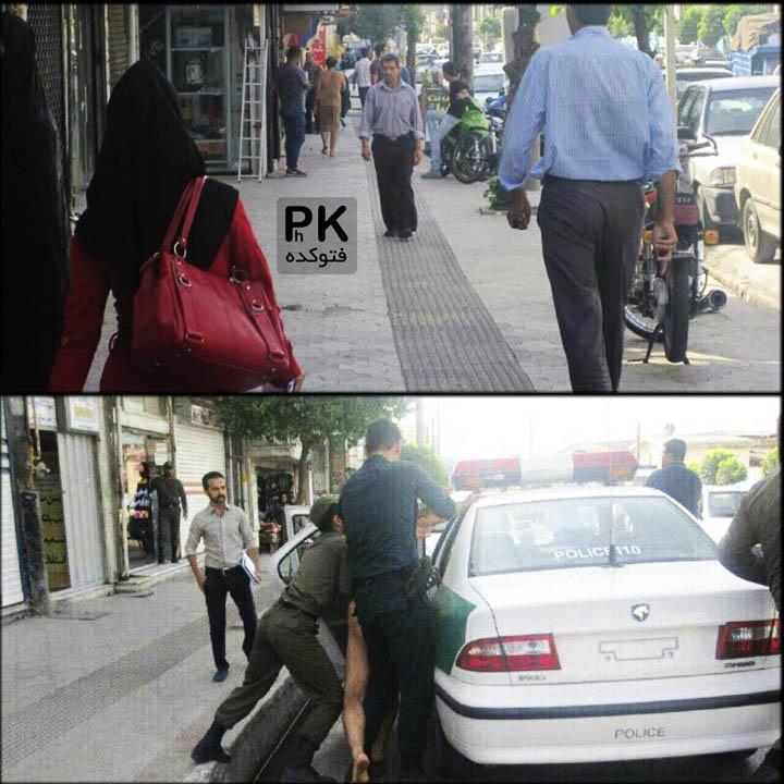 عکس لخت مردی در چالوس که دستگیر شد,عکس مرد عریان در چالوس,دستگیری فردی که در چالوس در خیابان لخت بود,قدم زدن لخت در چالوس,دستگیری فردی لخت در چالوس با عکس
