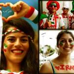 عکس تماشاگران ایرانی بازی با بوسنی