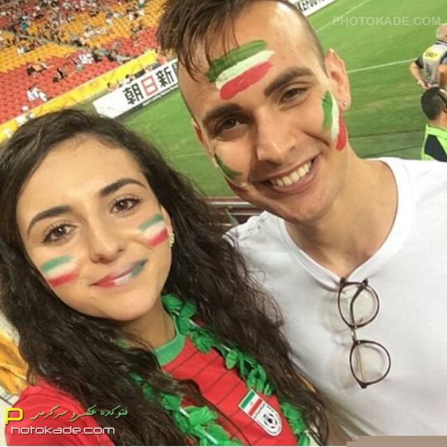 عکس های جدید تماشاگران ایرانی,تماشاگران خوشگل ایرانی در استرالیا 2015