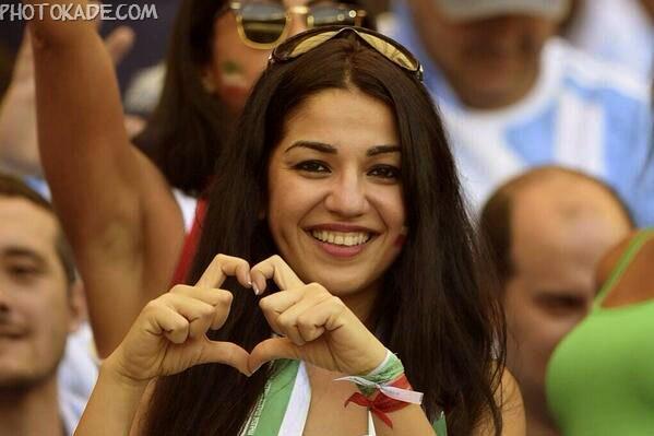 تصاویر تماشاگران ایرانی ارژانتین و ایران,عکس و تصاویر جدید ایرانی های جام جهانی