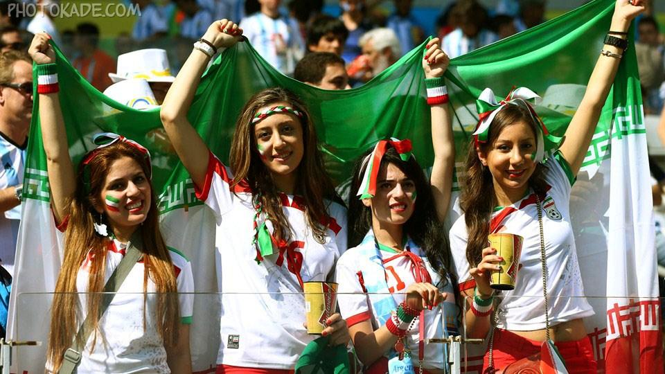 عکس تماشاگر دختر ایرانی جام جهانی,تصاویر تماشاگران ایرانی ارژانتین و ایران,عکس و تصاویر جدید ایرانی های جام جهانی