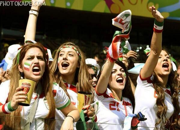 جام جهانی 2014 برزیل,دختر ایرانی جام جهانی