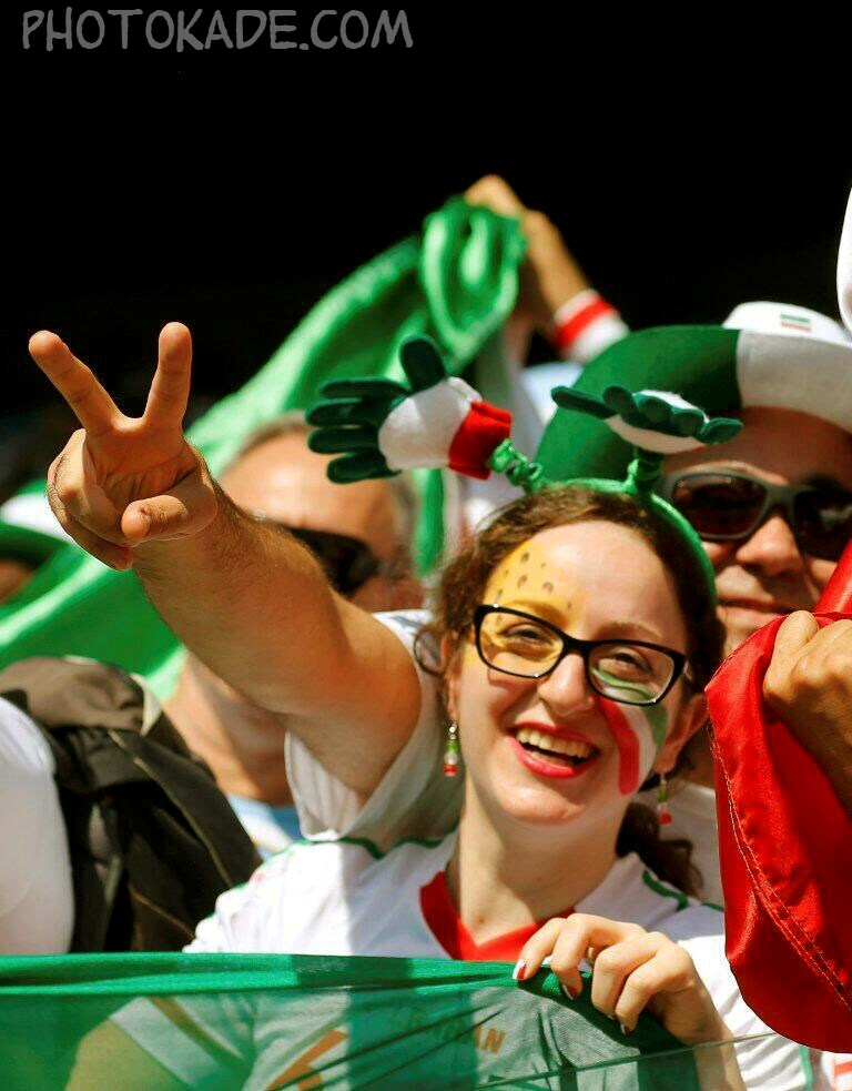 عکس تماشاگران جام جهانی 2014,عکس تماشاگران زن ایرانی 2014