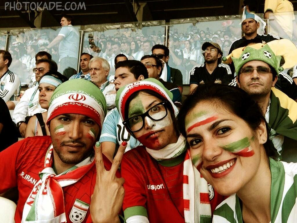 عکس تماشاچی های ایرانی در جام جهانی,عکس تماشاچی ها جام جهانی 2014,تصاویر تماشاگران ایرانی ارژانتین و ایران,عکس و تصاویر جدید ایرانی های جام جهانی