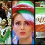 تماشاگران والیبال ایران و آلمان