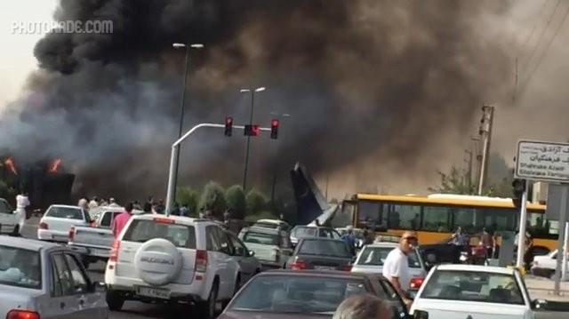 عکس سقوط کردن هواپیمایی ایران در تهران,عکس های هواپیمای سقوط کرده مرداد 9
