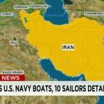 ماجرای بازداشت 10 آمریکایی در خلیج فارس