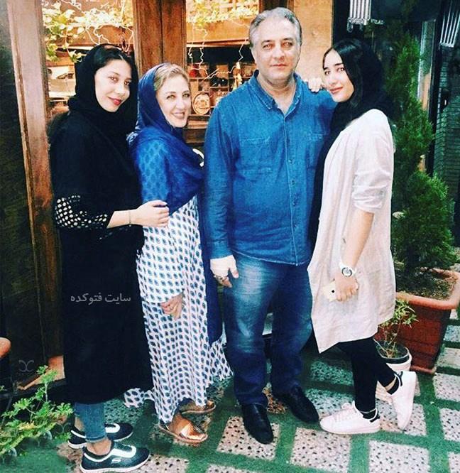 عکس دختران و خواهر ایرج نوذری + بیوگرافی