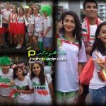 عکس تماشاگران بازی ایران و امارات
