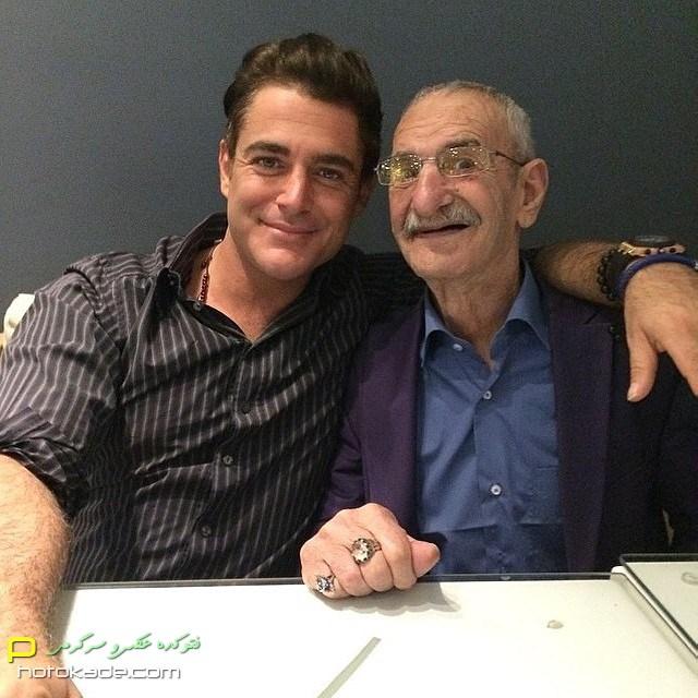 عکس جدید احمد پورمخبر و محمدرضا گلزار بهمن 93