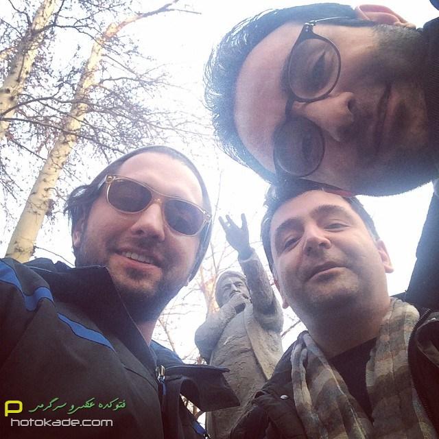 عکس جدید بهرام رادان بهمن 93