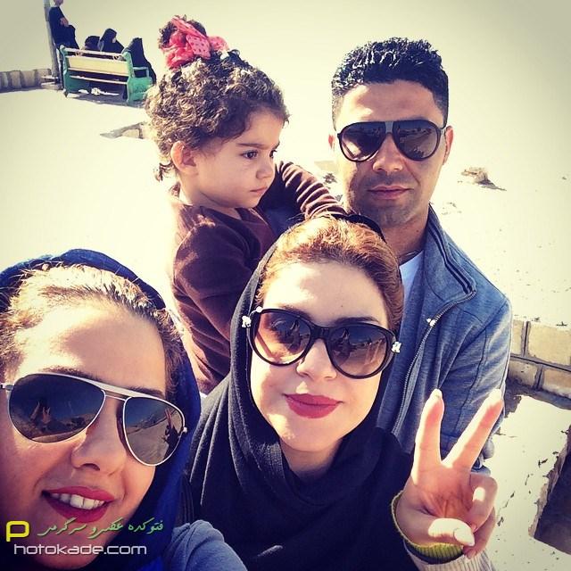 عکس جدید بیتا سحر خیز بهمن 93
