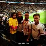 عکس تماشاگران فوتبال ایران و سوئد
