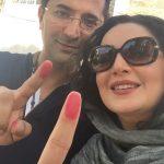 عکس های بازیگران و هنرمندان در انتخابات 96