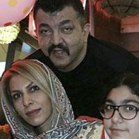 بیوگرافی احمد ایراندوست و همسرش + غول برره و بادیگاردی