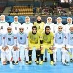 تیم ملی فوتسال زنان ایران قهرمان آسیا شد