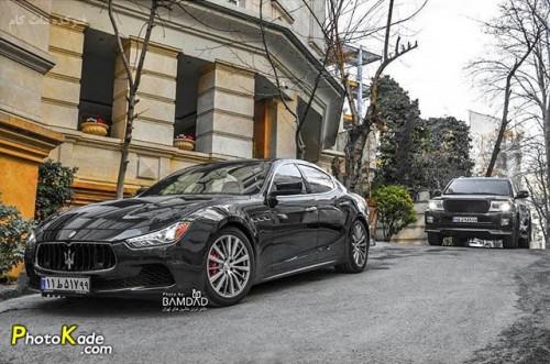 عکس ماشین مازراتی گیبلی کیو 4 (Maserati Ghibli Q4 )