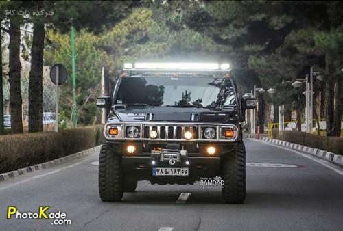عکس ماشین هامر اچ تو (Hummer H2)