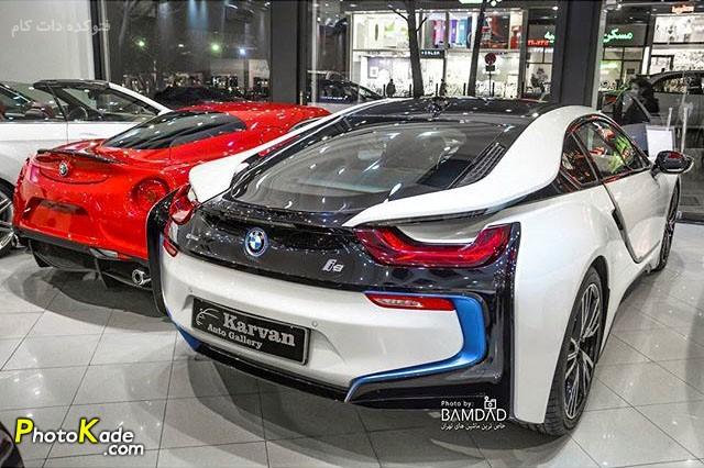 عکس ماشین بی ام و ای هشت و آلفا رومئو فور سی (BMW i8 & Alfaromeo 4c)