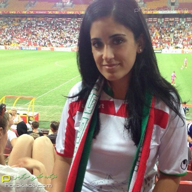 تصاویر تماشاگران ایرانی در استرالیا بازی با امارات 2015,تماشاگران زن ایرانی در بازی با امارات 2015,بازی ایران و امارات 2015,تصاویر تماشاگران زن و مرد ایرانی
