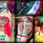 تماشاگران ایرانی جام ملت های آسیا