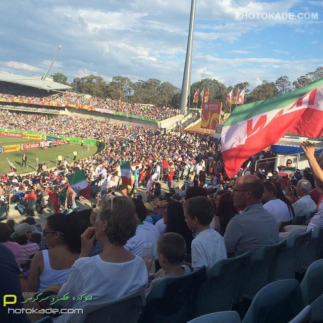 عکس تماشاگران بازی ایران و عراق 2015,عکس های تماشاگران ایران و عراق جام ملت های آسیا 2015
