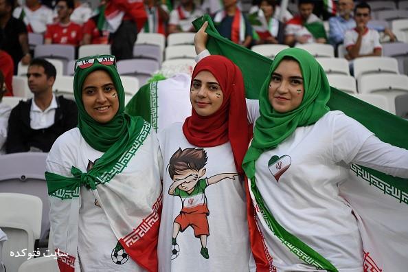 عکس تماشاگران بازی ایران و ژاپن نیمه نهایی آسیا 2019