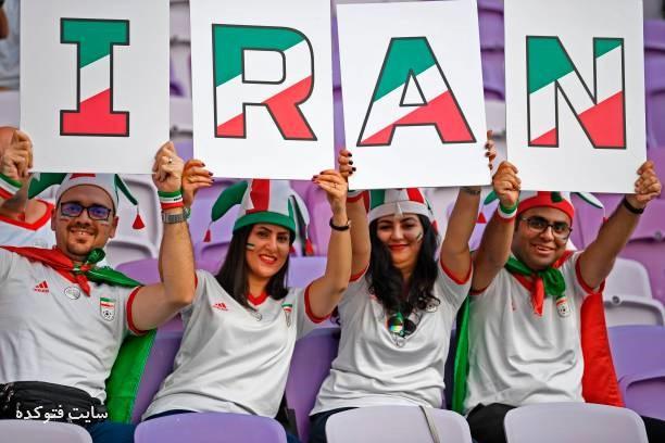 تماشاگران بازی ایران و ژاپن 2019