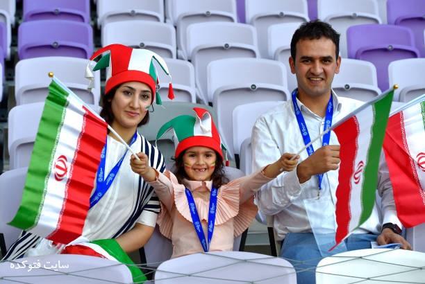 تماشاگران بازی ایران و ژاپن نیمه نهایی آسیا 2019