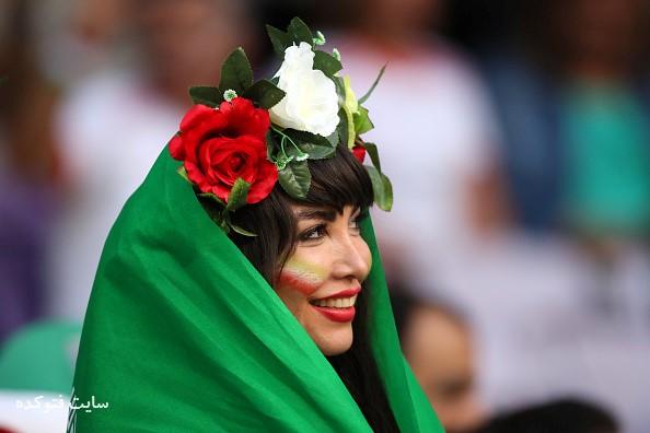 عکس تماشاگران بازی ایران و ژاپن در جام ملت هایی آسیا