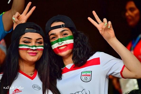 تماشاگران بازی ایران و ژاپن در جام ملت هایی آسیا