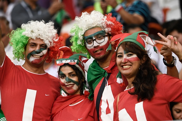 عکس تماشاگران بازی ایران و پرتغال در جام جهانی 2018