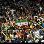عکس تماشاگران والیبال ایران روسیه