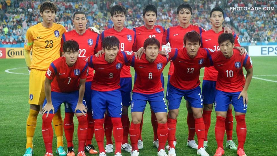 عکس تیم کره جنوبی در جام ملت های اسیا 2015