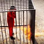 ویدیو اصلی سوزاندن خلبان توسط داعش