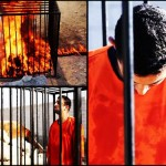 عکسهای زنده سوزاندن توسط داعش