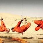عکس وحشتناک ترین جنایت داعش,روش جدید اعدام داعش,نوع جدید از اعدام داعشی ها با سوزاندن آروم آروم,جنایت وحشتناک داعشی,وحشتناکترین اعدام وحشیانه توسط داعش